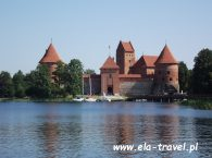Zamek w Trokach Litwa 2