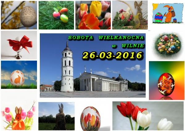 Święconka Wielkanoncna w Wilnie 2016