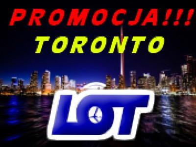 promocja biletów lotniczych do Toronto