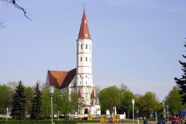 Szawle katedra św. Apostołow Piotra i Pawla