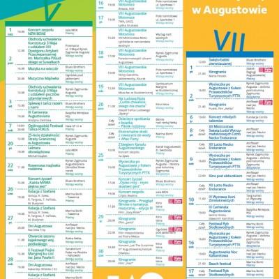 Kalendarz Imprez Augustów 2016
