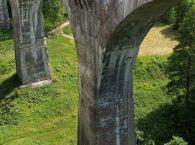 Filary mostów w Stańczykach Suwalszczyzna