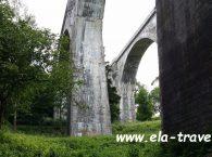 Filary mostów w Stańczykach od dołu Suwalszczyzna