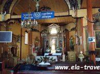 Kościół Rzymskokatolicki Matki Bożej Szkaplerznej od środka w Studzienicznej