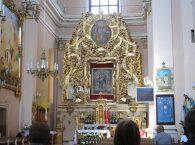 Nawa główna Klasztor w Wigrach