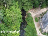 Rzeka Błędzianka w Stańczykach Suwalszczyzna