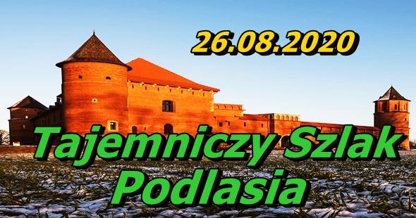 Wycieczka Tajemniczy Szlak Podlasia 26-08-2020 @ Augustów, Rynek Zygmunta Augusta 15