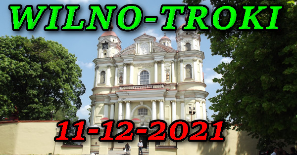 Kościół św. Apostołów Piotra i Pawła w Wilnie wycieczka do Wilna