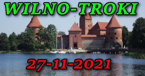 Zamek w Trokach wycieczka do Wilna