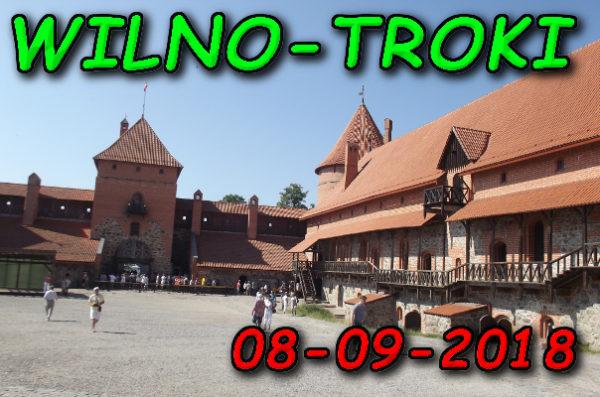 Wycieczka Wilno i Troki 08-09-2018 @ Augustów, Rynek Zygmunta Augusta 15