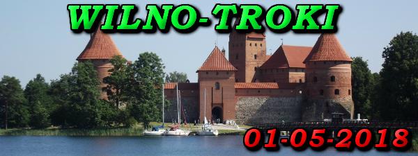 Wycieczka do Wilna i Trok 01-05-2018