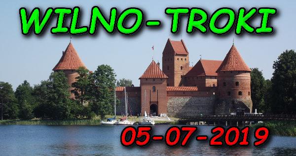 Wycieczka Wilno i Troki 05-07-2019 @ Augustów, Rynek Zygmunta Augusta 15