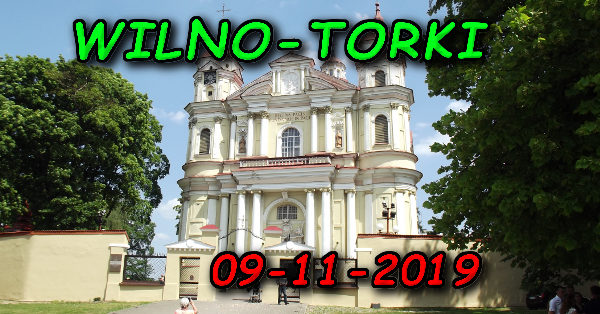 Wycieczka Wilno i Troki 09-11-2019 @ Augustów, Rynek Zygmunta Augusta 15