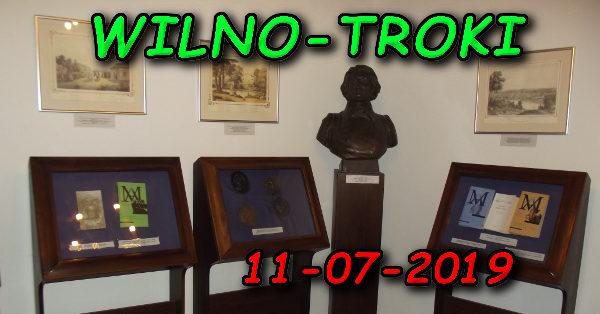 Wycieczka Wilno i Troki 11-07-2019 @ Augustów, Rynek Zygmunta Augusta 15