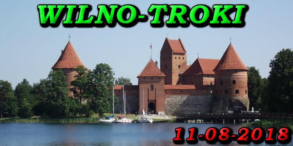 Wycieczka Wilno i Troki 11-08-2018 @ Augustów, Rynek Zygmunta Augusta 15