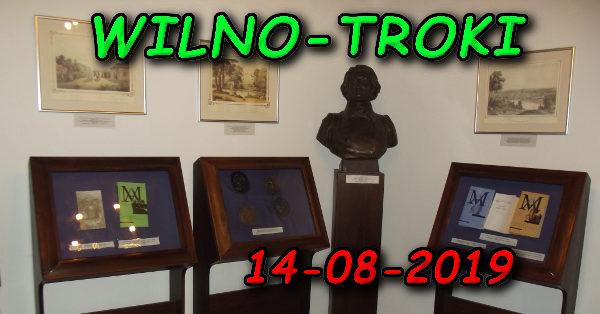 Wycieczka Wilno i Troki 14-08-2019 @ Augustów, Rynek Zygmunta Augusta 15
