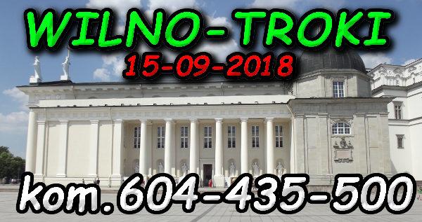 Wycieczka Wilno i Troki 15-09-2018 @ Augustów, Rynek Zygmunta Augusta 15
