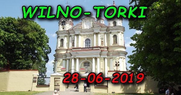 Wycieczka Wilno i Troki 28-06-2019 @ Augustów, Rynek Zygmunta Augusta 15