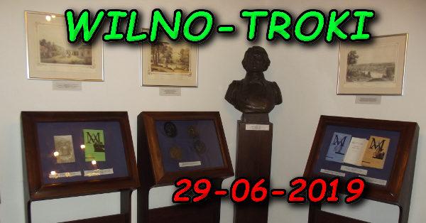 Wycieczka Wilno i Troki 29-06-2019 @ Augustów, Rynek Zygmunta Augusta 15