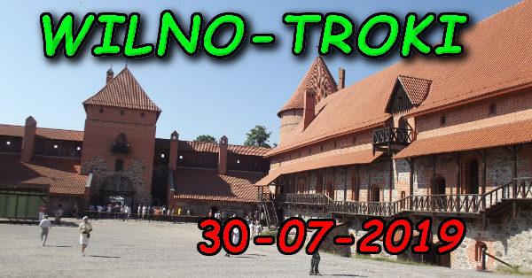 Wycieczka Wilno i Troki 30-07-2019 @ Augustów, Rynek Zygmunta Augusta 15