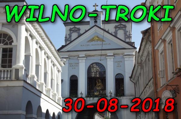 Wycieczka Wilno i Troki 30-08-2018 @ Augustów, Rynek Zygmunta Augusta 15