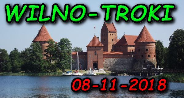 Wycieczka Wilno i Troki 08-11-2018 @ Augustów, Rynek Zygmunta Augusta 15