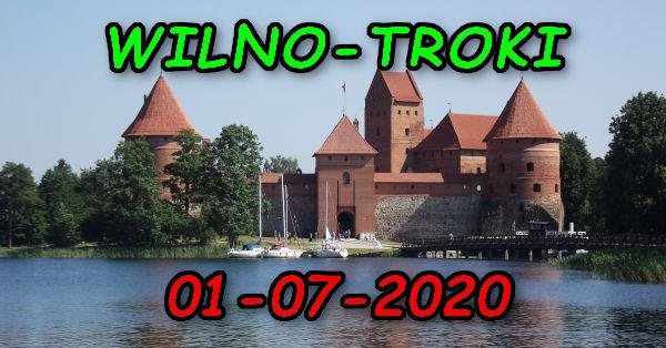 Wycieczka Wilno i Troki 01-07-2020 @ Augustów, Rynek Zygmunta Augusta 15