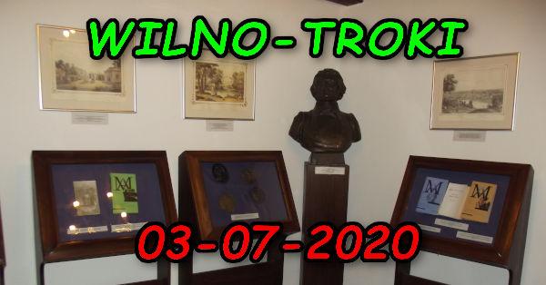 Wycieczka Wilno i Troki 03-07-2020 @ Augustów, Rynek Zygmunta Augusta 15