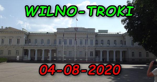 Wycieczka Wilno i Troki 04-08-2020 @ Augustów, Rynek Zygmunta Augusta 15