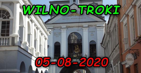Wycieczka Wilno i Troki 05-08-2020 @ Augustów, Rynek Zygmunta Augusta 15