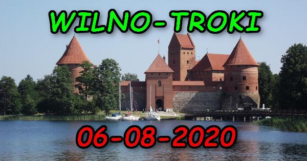 Wycieczka Wilno i Troki 06-08-2020 @ Augustów, Rynek Zygmunta Augusta 15