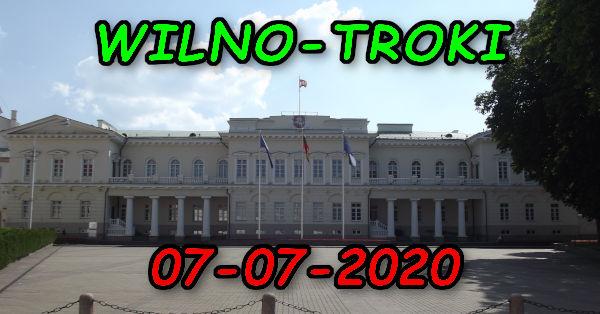 Wycieczka Wilno i Troki 07-07-2020 @ Augustów, Rynek Zygmunta Augusta 15