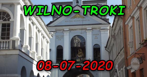 Wycieczka Wilno i Troki 08-07-2020 @ Augustów, Rynek Zygmunta Augusta 15
