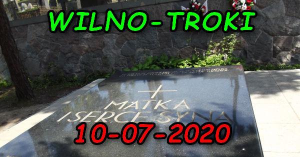 Wycieczka Wilno i Troki 10-07-2020 @ Augustów, Rynek Zygmunta Augusta 15