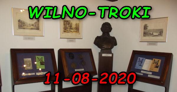 Wycieczka Wilno i Troki 11-08-2020 @ Augustów, Rynek Zygmunta Augusta 15