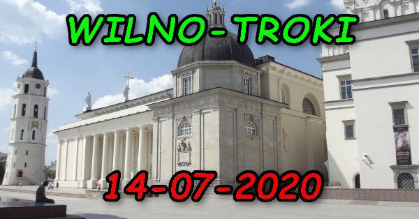Wycieczka Wilno i Troki 14-07-2020 @ Augustów, Rynek Zygmunta Augusta 15