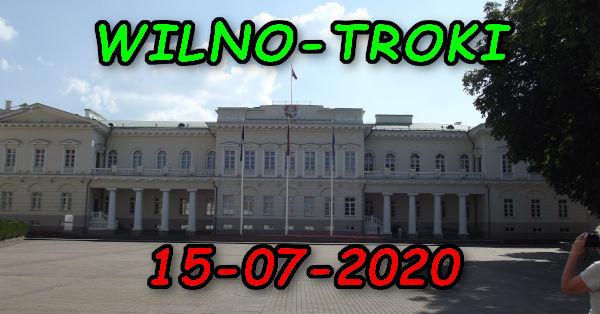 Wycieczka Wilno i Troki 15-07-2020 @ Augustów, Rynek Zygmunta Augusta 15
