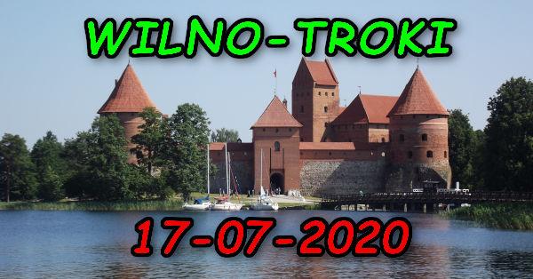 Wycieczka Wilno i Troki 17-07-2020 @ Augustów, Rynek Zygmunta Augusta 15