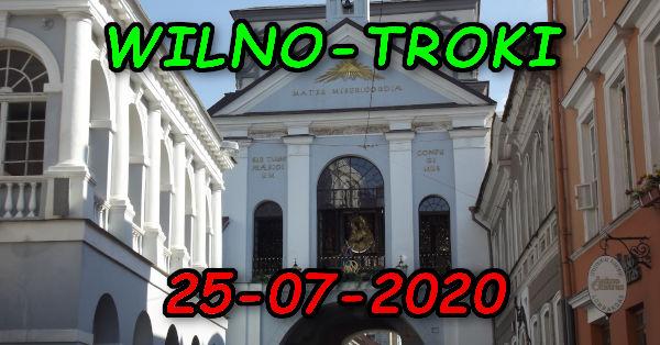 Wycieczka Wilno i Troki 25-07-2020 @ Augustów, Rynek Zygmunta Augusta 15