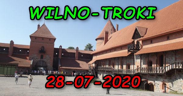 Wycieczka Wilno i Troki 28-07-2020 @ Augustów, Rynek Zygmunta Augusta 15