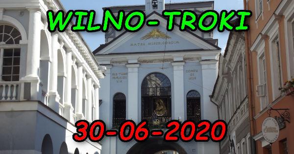Ostra Brama w Wilnie 30-06-2020