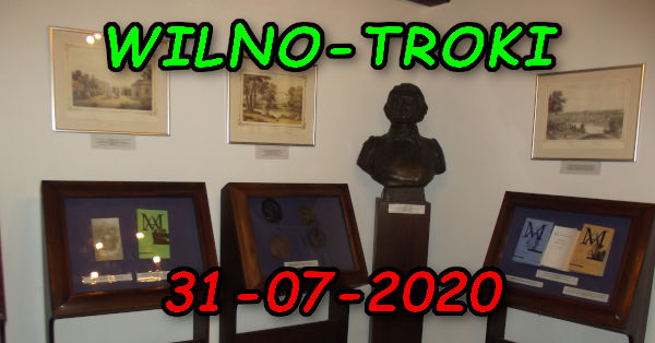 Wycieczka Wilno i Troki 31-07-2020 @ Augustów, Rynek Zygmunta Augusta 15