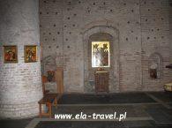Ściany Monaster Cerkiew Świętych Borysa i Gleba w Grodnie
