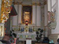 Bazylika katedralna Św. Franciszka Ksawerego nawa Matka Boża Kongregacka w Grodnie