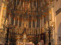 Bazylika katedralna Św. Franciszka Ksawerego nawa główna w Grodnie