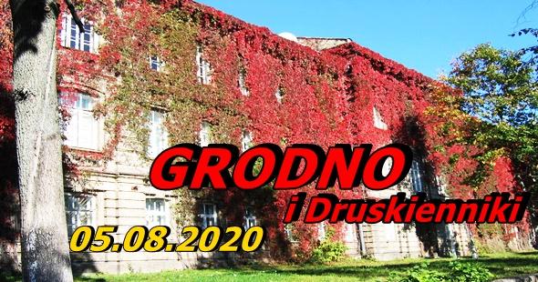 Wycieczka do Grodna i Druskiennik 05-08-2020 @ Augustów, Rynek Zygmunta Augusta 15