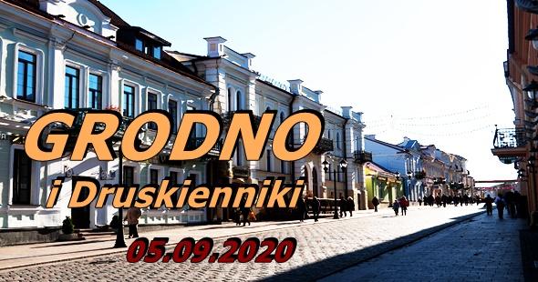 Wycieczka do Grodna i Druskiennik 05-09-2020 @ Augustów, Rynek Zygmunta Augusta 15