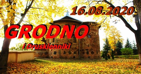 Wycieczka do Grodna i Druskiennik 16-08-2020 @ Augustów, Rynek Zygmunta Augusta 15