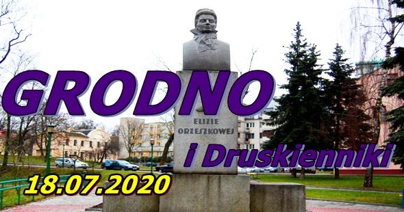 Wycieczka do Grodna i Druskiennik 18-07-2020 @ Augustów, Rynek Zygmunta Augusta 15