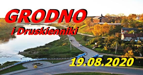 Wycieczka do Grodna i Druskiennik 19-08-2020 @ Augustów, Rynek Zygmunta Augusta 15